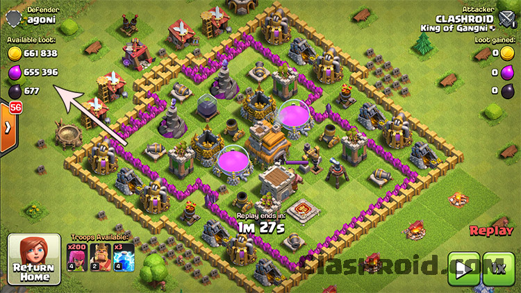 COC Dead Bases, Clash of Clans Dead bases, huge loot in COC