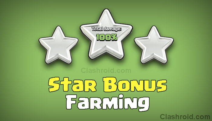 Clash of Clans Star Bonus Farming Strategy!