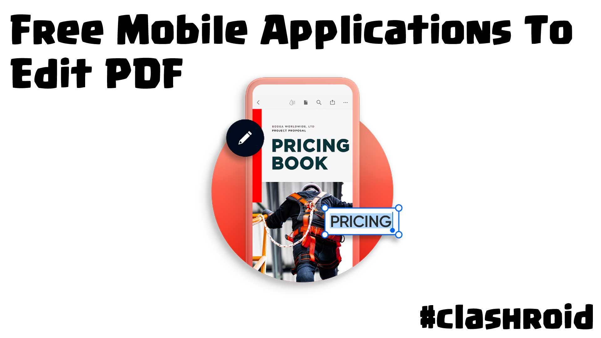 Free Mobile Applications To Edit PDF