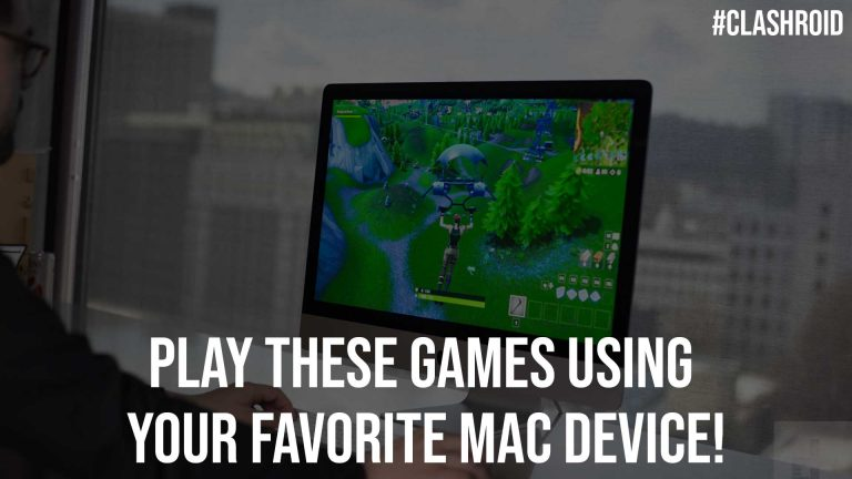 Play These Games Using Your Favorite Mac Device!